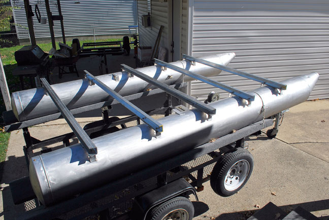 Aluminum Pontoon Logs Aluminum Pontoon Logs Plans Boat Bed ...